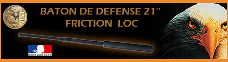 Baton de défense télescopique de dotation Friction-Loc ASP