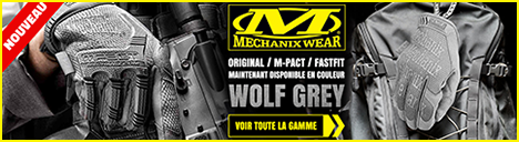 Gants MECHANIX en coloris WOLF GREY
