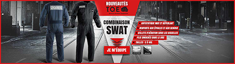 Combinaisons Intervention Police/Gendarmerie TOE
