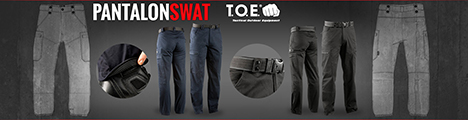 Le SWAT de chez TOE : le Must des pantalons d'intervention
