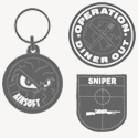 Airsoft Identifiants-Grades-Fourreaux-Ecussons Airsoft