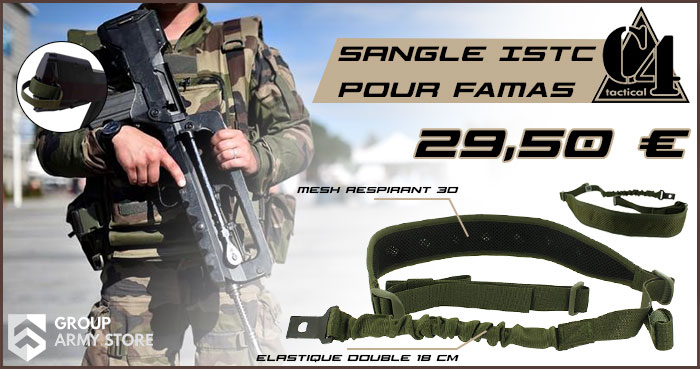 Sangle ISTC pour FAMAS
