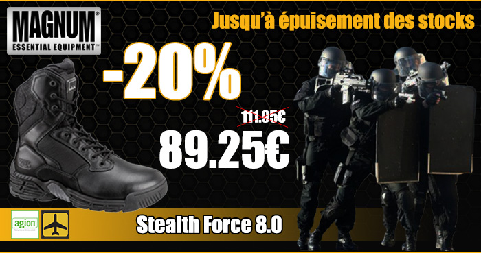Promo STEALTH FORCE 8
