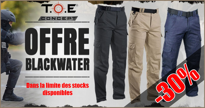 Blackwater trousers offer
