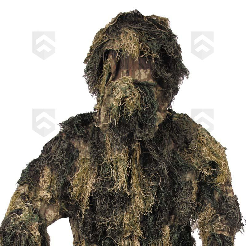 tenue de camouflage ghillie suit woodland general army store. Black Bedroom Furniture Sets. Home Design Ideas