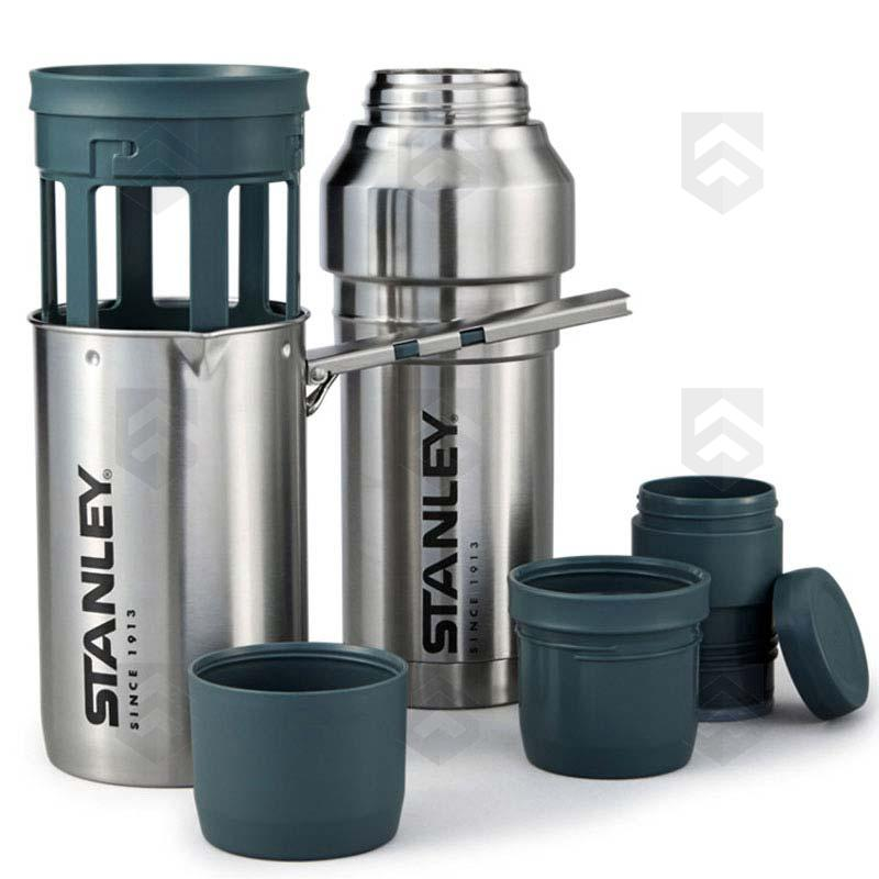 Kit cafeti re piston isotherme 1l stanley acier group - Utilisation cafetiere a piston ...