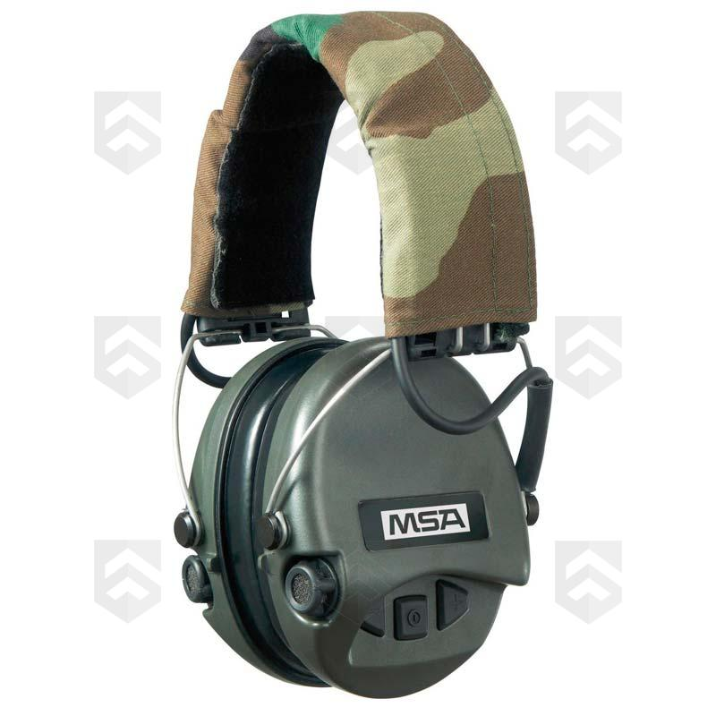 casque anti bruit supreme pro x msa serre t te group army store. Black Bedroom Furniture Sets. Home Design Ideas