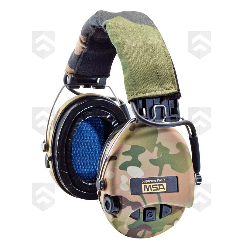 casque anti bruit supreme pro x msa serre t te camouflage group army store. Black Bedroom Furniture Sets. Home Design Ideas