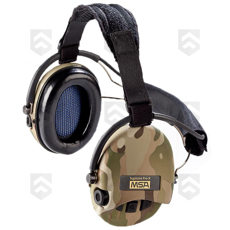 casque anti bruit supreme pro x neckband msa group army store. Black Bedroom Furniture Sets. Home Design Ideas