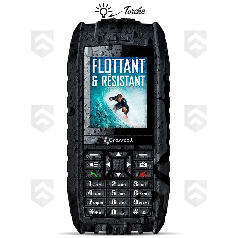 t l phone portable shark v2 crosscall general army store. Black Bedroom Furniture Sets. Home Design Ideas