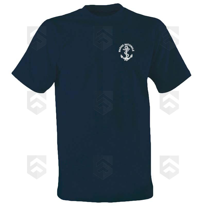 t shirt opex imprim marine nationale bleu marine group. Black Bedroom Furniture Sets. Home Design Ideas