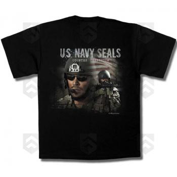 promotions / Soldes T-shirt MIL Pictures US Navy Seals - Promo