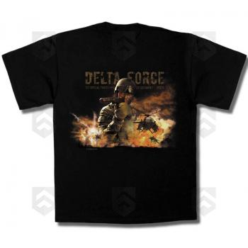 T-shirt MIL Pictures Delta Force 0