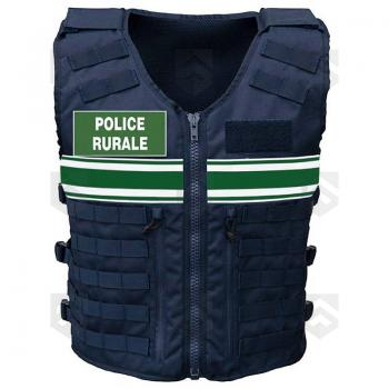 Gilet modulable Tactique MOLLE LPSA Police Rurale 0