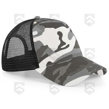 Casquette Snapback Trucker Camouflage Arctic