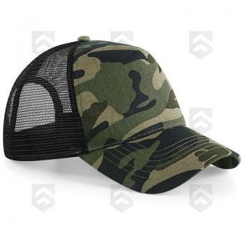 Casquette Snapback Trucker Camouflage Jungle