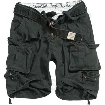 Vente Short Cargo Division Noir / Magasin Surplus Raw Vintage