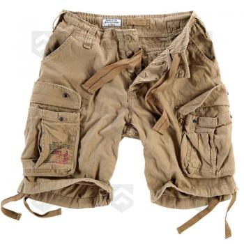 Vente Short Airborne Vintage Beige / Magasin Surplus Raw Vintage