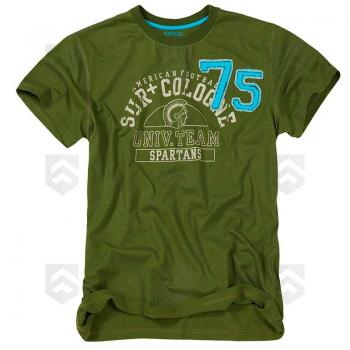 T-shirt manches courtes Spartans Vert Surplus Raw Vintage 0