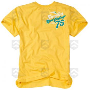 Vente T-shirt Surfer manches courtes Surplus Raw Vintage Jaune / Magasin Surplus Raw Vintage