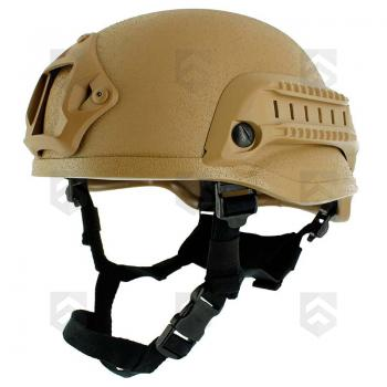 Casque de combat US MICH 2002 NVG Coyote TAN