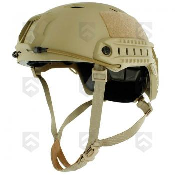 Casque US FAST Parachutiste Coyote Tan