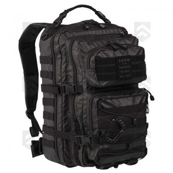Sac à dos 36L Assault Pack Tactical Noir Miltec