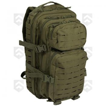 Sac à dos 20L Assault Pack Laser-Cut Vert OD Miltec