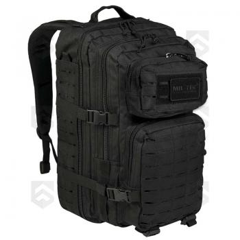 Sac à dos 36L Assault Pack Laser-Cut Noir Miltec