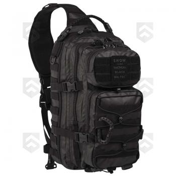 Sac bandoulière 29L Assault Pack Tactical Noir Miltec
