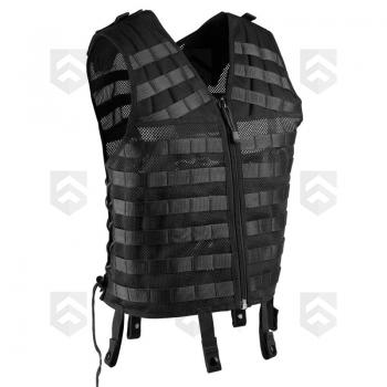 Gilet modulable Tactique MOLLE TOE Pro® Noir