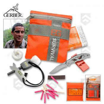 Kit de survie Basic GERBER Bear Grylls-G0700