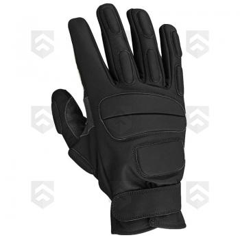 Gants Intervention Cuir CityGuard Noir