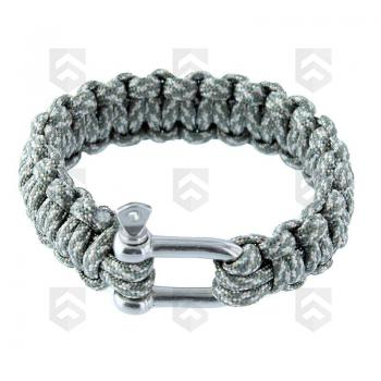 Bracelet de survie Paracorde 23 mm AT-Digital fermoir Manille