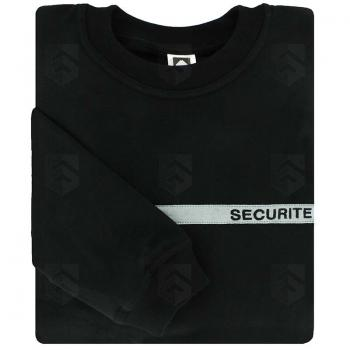Sweat-shirt Sécurité bande grise