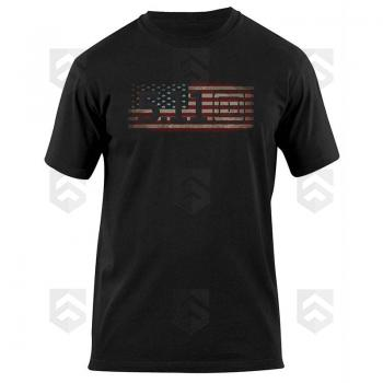 Vente Tee-shirt manches courtes Old Glory USA 5.11 Noir / Magasin 5.11 Tactical Series