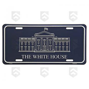 Plaque Métal The White House 0