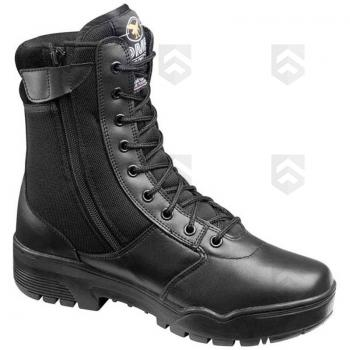 Chaussures Rangers Combat Boots Cuir & Toile Open zip DMB