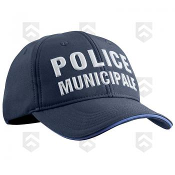 promotions / Soldes Casquette POLICE MUNICIPALE Stretch Fit PM ONE - Promo
