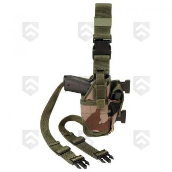 Holster tactical de cuisse Mod One TOE Pro camouflage C.E.