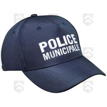 Casquette brodée POLICE MUNICIPALE type Baseball