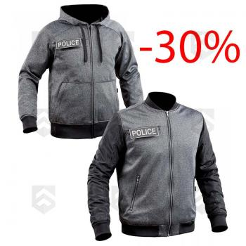 Ensemble Blouson et Sweat zippé Ghost TOE® Gris 0