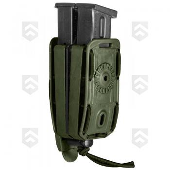 Porte-Chargeur P.A Double  Bungy 8BL Vega Holster® Vert OD