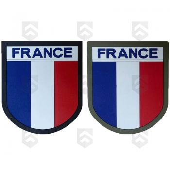 Ecusson France Tricolore Silicone