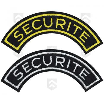 Ecusson demi-lune SECURITE