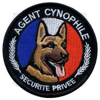 Ecusson rond Agent Cynophile Berger 0