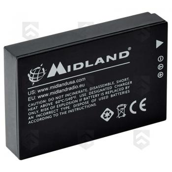 Batterie Li-Ion Rechargeable 1700 mAh pour Camera XTC 400 Midland
