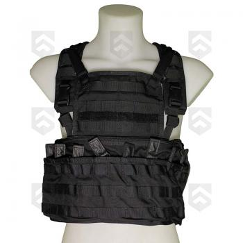 Gilet Chest Rig Commando Recon Gen2 Blackhawk Noir