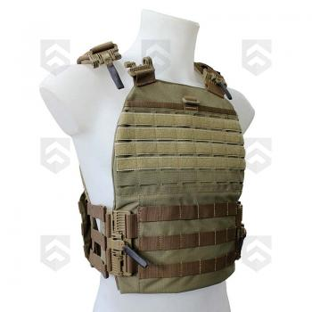 Harnais Porte-Plaques Alpha C4 Tactical Coyote 0