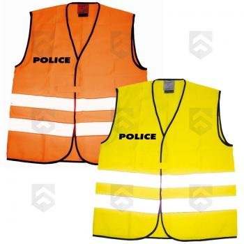 Chasuble Fluo Police